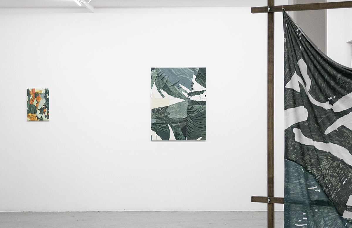 Endless Hunt (2016), at Galleri Thomassen, Gothenburg, Sweden. Installation view.